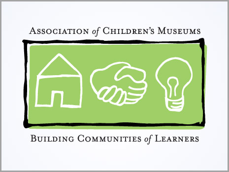 ACM, Association of Children's Museums, InterActivity 2003 Logo, Building Community of Learners, Tammie Kahn, Janet Rice Elman, Nan Miller, Christina Tompkins